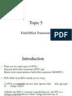 JFET Summary
