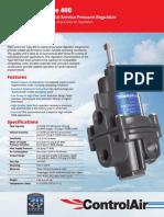 Control Air Pressure Regulator 400
