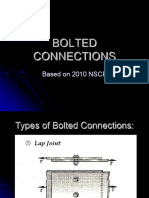 CIVDES2 Lecture Notes - 13 Bolted Connection