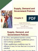 6_Demand Supply Gove Policies
