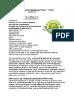 Frunze de Maslin Extract 70 Cps