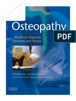 Osteopathy- Models for Diagnosis, Treatment and Practice