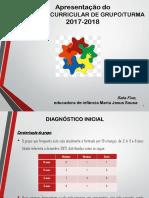 Apresentação do Projeto Curricular de Grupo 2017-2018
