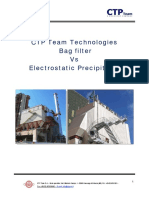 Bag Filter vs EP Information