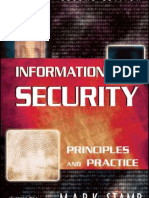 Information Security Principles and Practice, 2nd Edition, By Mark Stamp