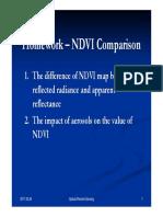 Homework SPOT NDVI Comparison