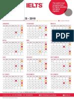 British Council Ielts Dates 2018