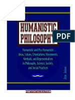 HUMANISTIC PHILOSOPHY