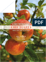 Mark I. Krusemeyer, George T. Gilbert, Loren C. Larson a Mathematical Orchard Problems and Solutions