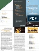 Primer Concierto de La Temporada Ocaz Enigma 17-1-2014