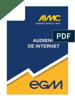 Audiencia de Internet EGM Febrero Marzo 2016