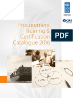 Catalogue 2016 UNDP CIPSTrainingCertification (1)