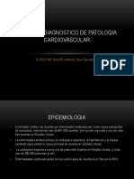 Enfoque Diagnostico de Patologia Cardiovascular