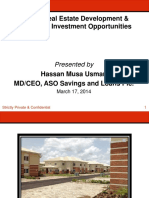 Nigeria Real Estate Development and Financing ASO