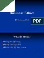 10 Business Ethics