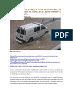 Fuertes Lluvias, Inundaciones e Incluso