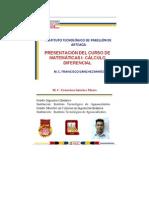PRESENTACIÓN DEL CURSO DE CÁLCULO DIFERENCIAL