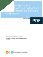 Agricultura No Huambo