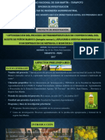Yoel Guerrero - Anteproyecto de Tesis - Biodiesel de Piñon Balnco - CONCURSO- EXPONER