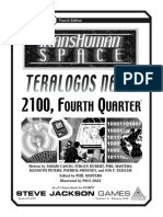 Transhuman Space Teralogos News - 2100, Fourth Quarter