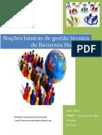 UFCD_0612 - Noções Básicas de Gestão Técnica de Recursos Humanos_índice