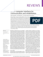 Brain-Computer Interfaces for Communication and Rehabilitation
