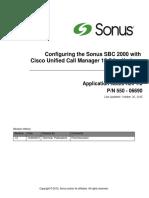 Sbc2000 Iot Cucm10.5 Verizon Sip Trunk Applicationnotes Final Rev1.0