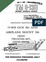 TM9-1311 75mm Gun M4 and airplane mount M6.pdf