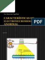 Características de Electroneuromiografía Anormal