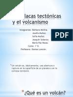 Las placas tectónicas y el volcanismo.pptx