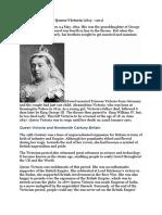 Short Biography of Queen Victoria.doc