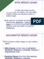 MEDICINA+LEGAL+-+DOCUMENTOS+MÉDICO-LEGAIS1.ppt