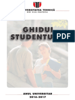 Ghidul Studentului Licenta 2016-2017
