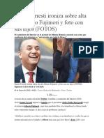 Daniel Urresti ironiza sobre alta de Alberto Fujimori y foto con sus hijos.docx
