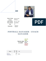 Cum arată CV-ul lui Dan Petrescu trimis unui club din Anglia