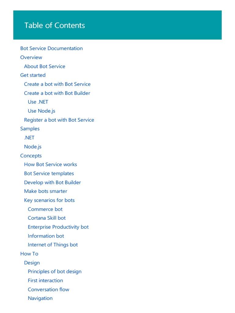 Toc   Microsoft Visual Studio   Application Programming Interface