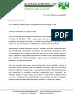 Ofício FKR 002-2018 Regularização Dos Clubes