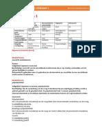 kennis portfolio leerjaar 1