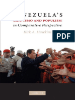 Kirk a. Hawkins Venezuela's Chavismo and Populism in Comparative Perspective 2010