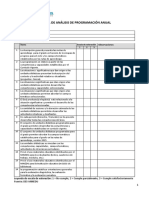 Ficha 2 Analisis de La Planificación Curricular