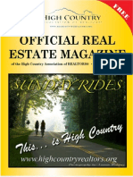 The Official High Country Real Estate Magazine