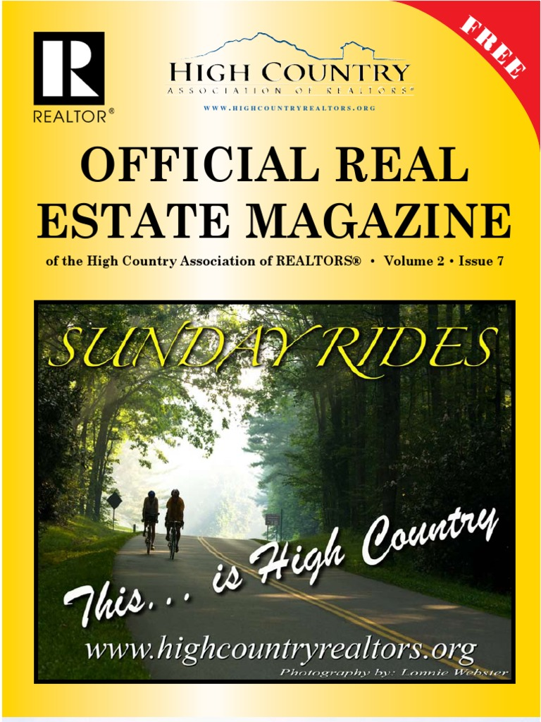 the official high country real estate magazine western north