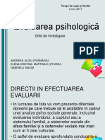 Evaluarea psihologică