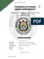 CUESTIONARIO- DeR 504- Taller y Práctica Forense Civil