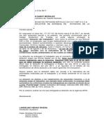 Derecho de Peticion Landellino Henao Dotacion Zarzal Valle Marzo 6 de 2017