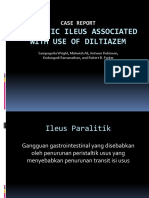Paralytic Ileus Associated With Use of Diltiazem