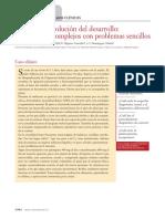 Evolución-involución del desarrollo  adolescentes complejos con problemas sencillos.pdf