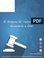 El Sistema de Justicia Penal Acusatorio y Oral. UNIDAD 1