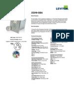 Product Spec or Info Sheet - 25249-SBA