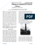 Structural Retrofitting of a Reinforced Concrete Chimney